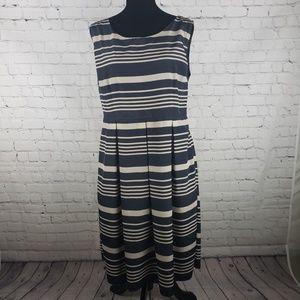 Romy Sleeveless Striped Dress